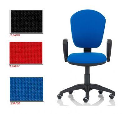 Sedie A Norma Per Ufficio.Seduta Da Lavoro Serie Tr Con Braccioli Kt4 Sedie Per Ufficio